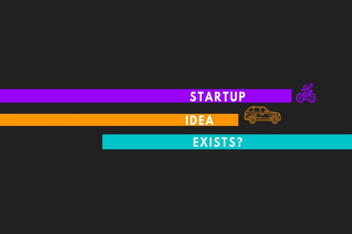 startup idea already exists