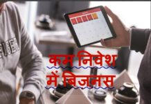 business ideas with low investment and high profit in hindi