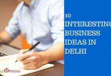 New business ideas in Delhi