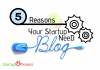 startup need a Blog