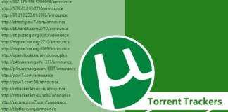 Torrent Trackers