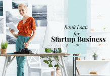 Bank loan for startup business