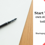 Start your own startup today