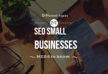 types of SEO small businesses