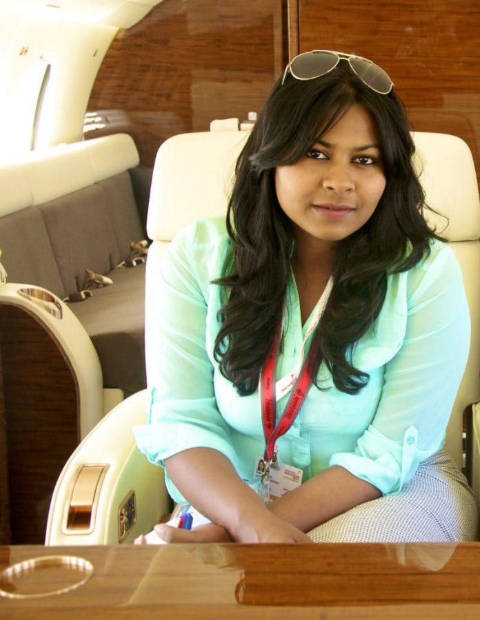 Kanika Tekriwa jets with jetsetgo