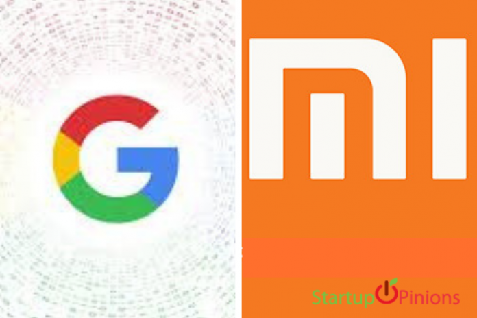 funding from google and xiaomi