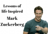 life inspired by Mark Zuckerberg
