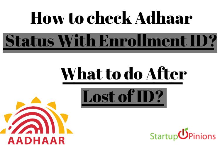 aadhar card check status