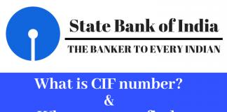CIF Number