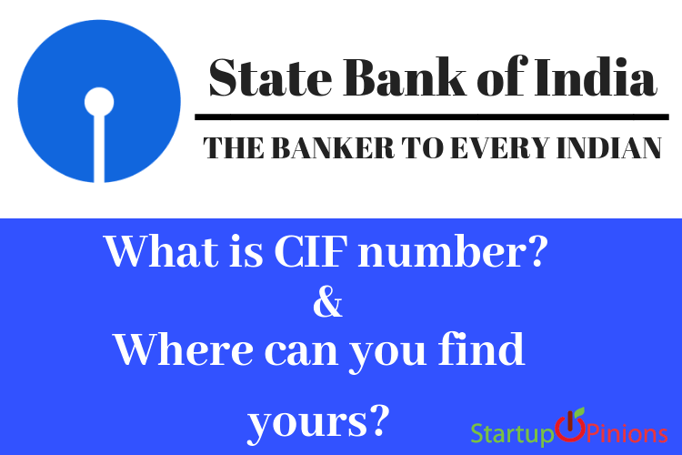 What is CIF number? Where can you find yours?