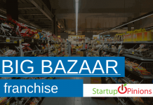 big bazaar franchise