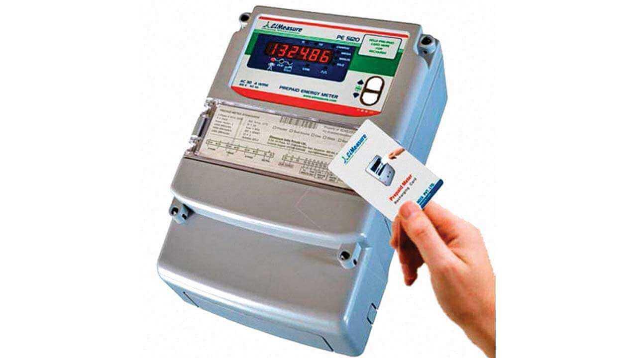 Prepaid electric meter business