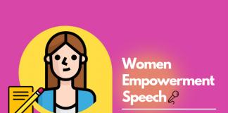 Women Empowerment speech