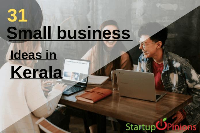 business ideas in kerala