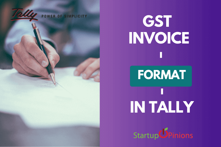 gst invoice format in tally