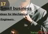 mechanical engineering startup ideas