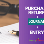 purchase return journal entry