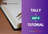tally erp 9 tutorial