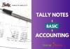 tally notes
