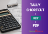 tally shortcut key pdf