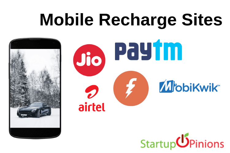 online recharge sites