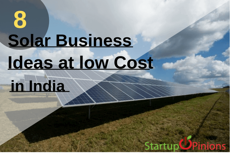 solar business ideas