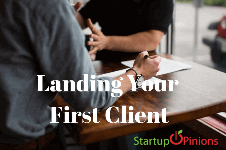 Landing Your First Client_ What You Need to Know As an Entrepreneur