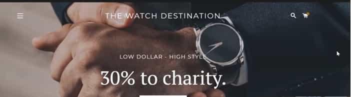 the watch destination
